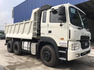 Giá Xe ben Hyundai HD 270 (nhập khẩu) 10 khốí 15 tấn. Hổ trợ 70 - 90%