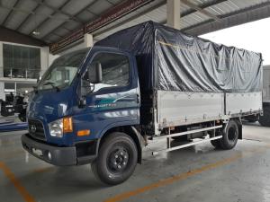 Giá Xe tải Hyundai new mighty 110SP. Tải trọng 7 tấn. tặng 2 chỉ vàng 9999, trả trước 170 triệu là có xe về nhà