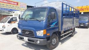 Xe Tải Hyundai 7 tấn ( New Mighty 110SP). Thùng Bạt Bửng Nâng