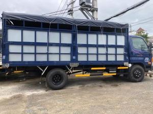 Xe tải Hyundai 8 tấn( Ga cơ mạnh mẹ) . Thùng chở gạch