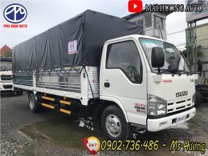 Bán xe tải Isuzu Vĩnh Phát 1.9 tấn thùng dài 6m2|Khuyến mại 50% phí trước bạ