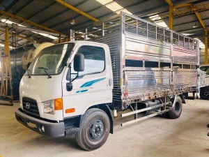 Giá Xe tải Hyundai 7 tấn. Thùng chở heo