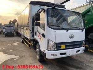 xe tải faw 8 tấn động cơ cầu gầm hyundai D4db , faw thùng dài 6m2, vay 80% xe mới