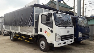 Xe tải 7 tấn Faw thùng 6 mét 3. Động cơ Huynhdai ga cơ 2017. Hổ trợ trả góp 80% Toàn Quốc