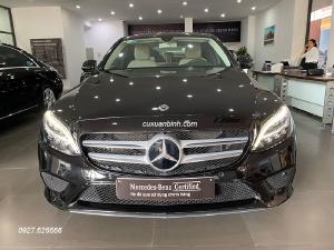 Xe Mercedes C200 cũ sản xuất 2019 màu Đen chạy lướt 7000 km giá rẻ / 1 tỷ 459 triệu