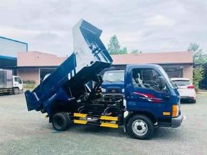 bán xe ben 2,4 tấn hyundai nhà máy thành công