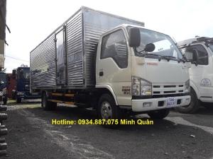 Bán xe tải Isuzu Vm 1t9 thùng 6m2, rộng 2m giao ngay