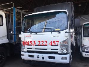 isuzu vĩnh phát 3 tấn 49 - thùng dài 4m3 - nhập khẩu 3 cục - trả trước 150tr nhận xe