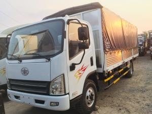 Bán xe tải Faw 7 tấn 3 đời 2017 ga cơ máy hyundai