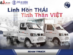 Xe TẢI Siam Truck Thái Lan 990kg
