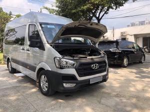 Cần Bán Hyundai Solati Bạc 2019 số sàn máy dầu xe rất mới
