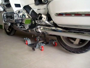 Bệ nâng xe motor phân khối lớn, xoay xe nhẹ nhàng