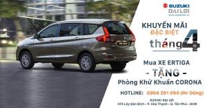Suzuki Ertiga Limited 2020 - Trả trước chỉ từ 186tr có xe ngay