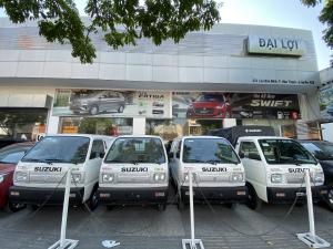 Suzuki Blind Van-Chạy được 24/24 trong thành phố-Trả trước 117tr có xe