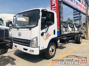 xe tải faw 7 tấn 3 thùng 6m2 — giá thanh lý — hỗ trợ trả góp .