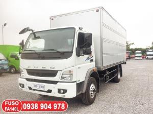 Xe tải Mitsubishi / FUSO FA140L thùng dài 6.1 mét, xe tải Mitsubishi 2020