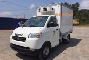 Xe tải thùng đông lạnh suzuki 500kg, suzuki carry pro 2020 +giá rẻ +bình dương