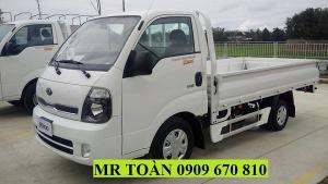 Bán xe tải Kia K250 thùng lửng tải trọng 2.49 tấn. Động cơ Huyndai D4CB. Nhập khẩu Hàn Quốc