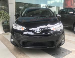Bán xe Toyota Vios 1.5E số sàn 2020, màu đen - Giá cực Tốt, Ưu đãi lớn phụ kiện, trả góp 80%
