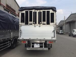 xe tải hino 5 tấn bửng nhôm đẹp, đóng thùng theo yêu cầu