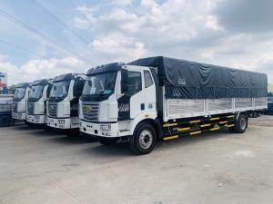 Xe tải faw 7t25 thùng dài chở nhựa bao bì giấy