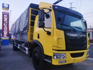 xe tải faw 8 tấn thùng dài 8 mét chở hàng nhẹ   Hỗ trợ trả góp