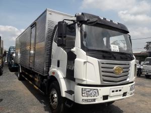 Xe tải Faw thùng kín siêu dài 9m7
