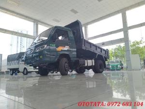 Xe ben 1 tấn TMT ZB5010D lốp đôi máy dầu