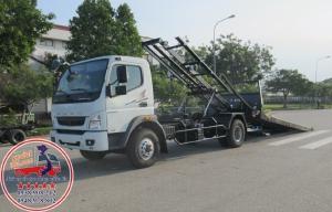 Bán xe tải cứu hộ kéo chở xe 5 tấn Nhật Bản Mitsubishi Fuso FA gía tốt nhất Hà Nội