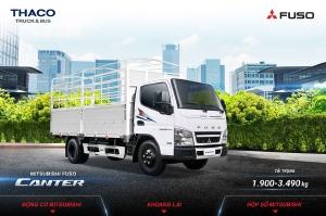 Mitsubishi Canter 1,9T-3,4T giá tốt nhất