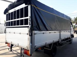 xe tải Hyundai N250SL 2t4 thùng mui bạt bửng nhôm 4m3