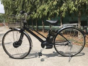 Xe đạp điện Nam Panasonic trợ lực zin nguyên bản pin Lion 6.6 Full đèn hàng Nhật bãi giá rẻ Tp HCM
