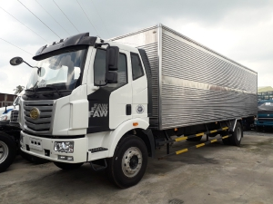 Xe tải faw 7t2 thùng kín siêu dài 9m7 giao ngay