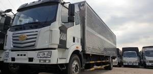 Xe tải thùng dài 10m, xe tải faw 7t25 thùng dài 10m độc quyền tại miền Nam.