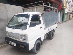 xe tải suzuki cũ thùng mui bạt đời 2009 thùng lối dài Hải Phòng Nam Định Thái Bình Quảng Ninh