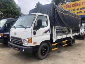 Giá xe tải Hyundai New Mighty 75S thùng mui bạt 3,5 tấn bảo hành 5 năm