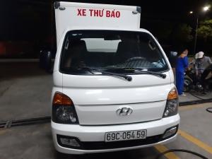 Bán Xe Tải Hyundai H150 1.5 Tấn Cũ Thùng Kín 2018