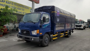 Hyundai NEW MIGHTY 110SL thùng bạt