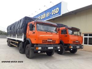 XE TẢI THÙNG KAMAZ 6540 (8X4) - THÙNG ĐÓNG LONG 9m 30 tấn | Kamaz 4 giò tại Bình dương
