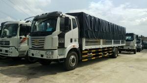 Đại lý xe tải faw 8 tấn - thùng siêu dài 10 mét chở cấu kiện điện tử | Hỗ trợ trả góp