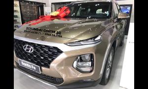 Bán Hyundai SantaFe 2020 có sẵn giao liền tay