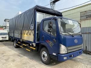 faw 7 tấn 3 máy hyundai d4db thùng 6m2 gacơ giá tốt