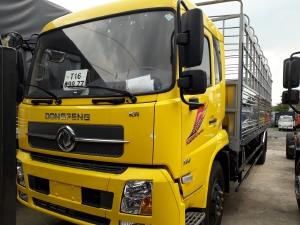Xe tải 9 tấn dongfeng hoàng huy b180 chuyên chở bao bì giấy, mút sốp