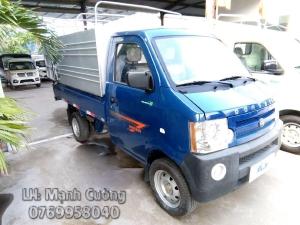 xe tải DONGBEN thùng mui bạt, tải trọng 850kg