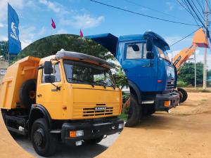 Mua bán xe ben Kamaz 15 tấn nhập khẩu, phân phối tại Bình Phước, Bình Dương, Đồng Nai, Long An, Tây Ninh