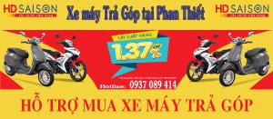 Xe máy trả góp tại Phan Thiết - Bình Thuận