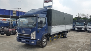 Bán xe Faw Yuchai thùng dài 5m1