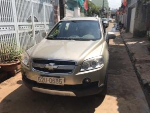 Nhà hẻm nhỏ quay đầu xe khó nên bán gấp xe Captiva 2008 tại Buôn Ma Thuột, Đắk Lắk.