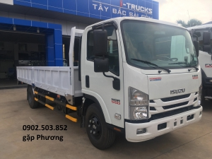 Xe tải ISUZU NQR550 Thùng Lửng mới 100% -5 tấn - 6m2