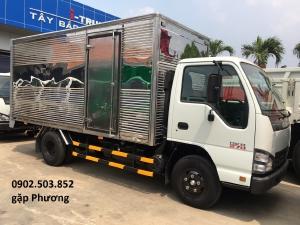 Xe tải ISUZU QKR270 Thùng Kín mới 100% -1,9 tấn - 4m3-Trả góp